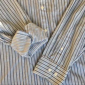 Men's Calvin Klein NWOT Striped Button-Down.